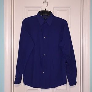 Royal Blue Button-down Shirt! 👔